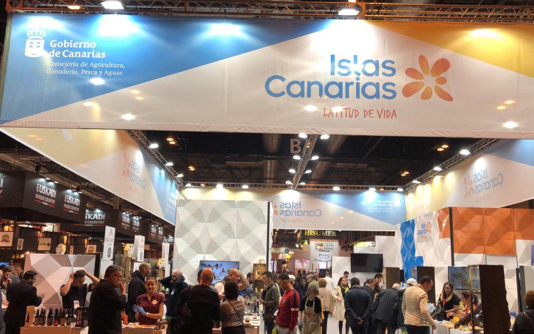 La Palma y sus productos, presentes en el Salón Gourmets de Madrid 2019
