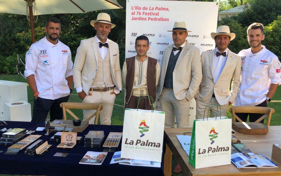 AGAP vuelve a representar a La Palma en el Festival Jardins de Pedralbes