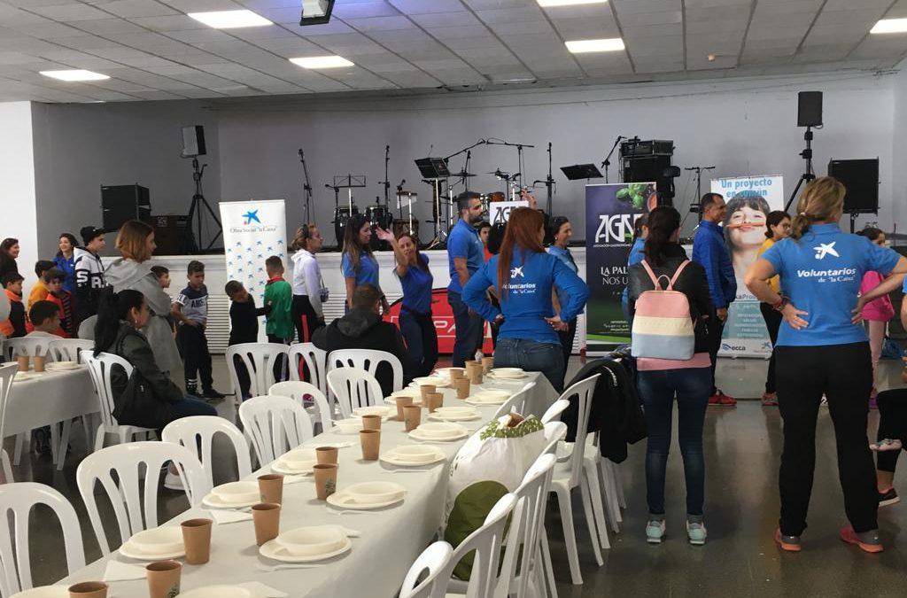 La III edición del Almuerzo Solidario de AGAP fue celebrada con éxito