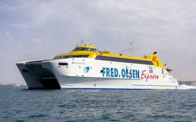 Fred. Olsen Express garantiza los suministros de mercancías a Canarias