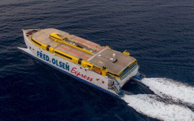 La naviera Fred. Olsen Express aumenta sus conexiones